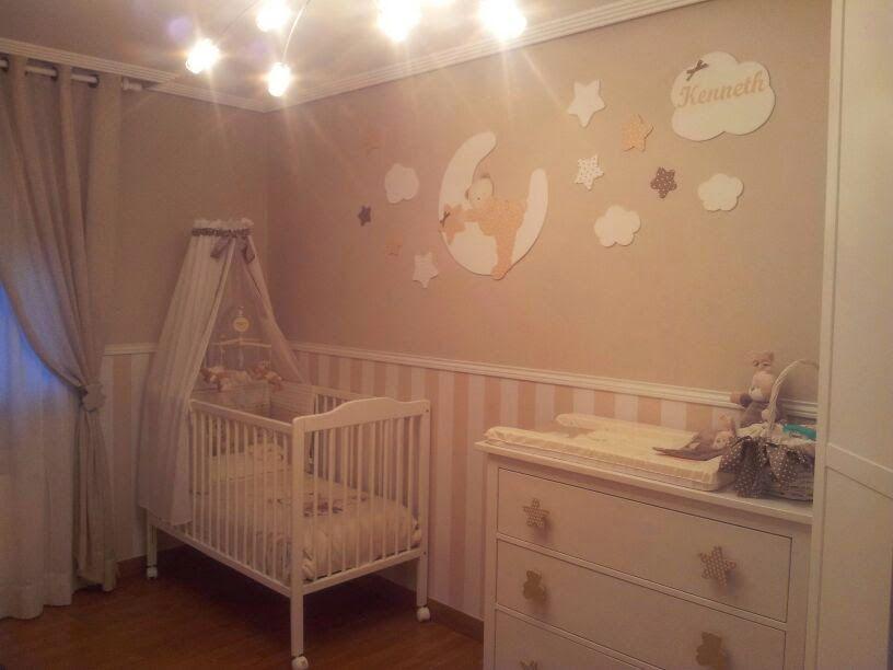 Decoraci n infantil pekerines siluetas en habitaciones - Abitaciones de bebes ...