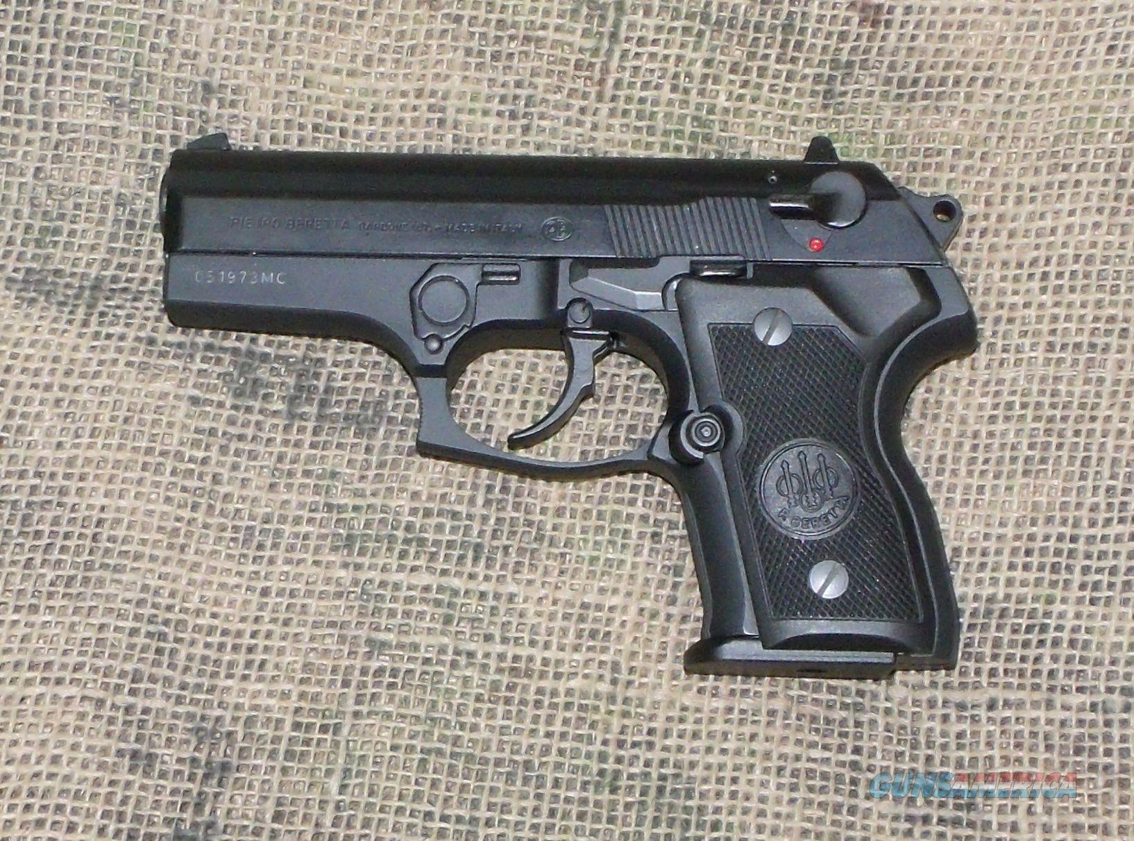 BERETTA Mod. 8000F Mini Cougar Pistol, 9mm Cal. Guns ...