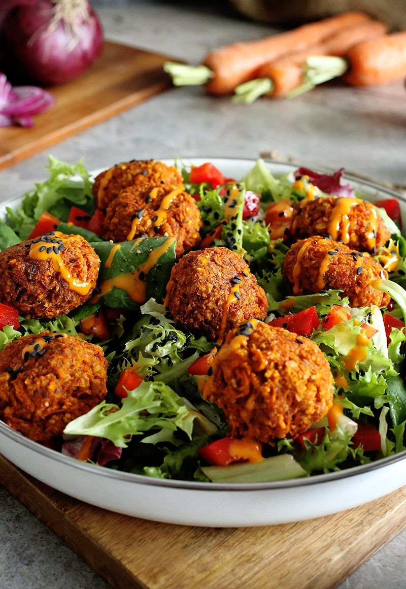 Easy Savory Carrot Balls