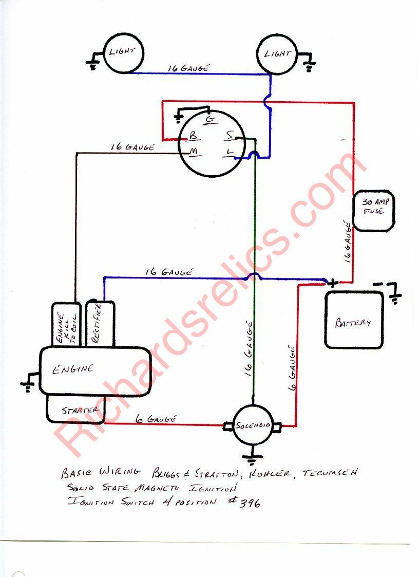 20 Hp Kohler Engine Wiring Diagram In Command
