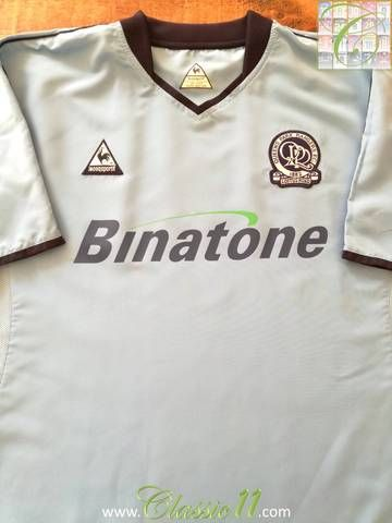 Official Le Coq Sportif Queens Park Rangers away football shirt from the  2004 05 season e67c60538