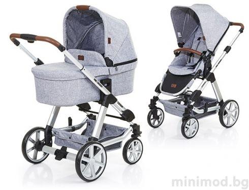 Abc Design Kombinirana Kolichka 2v1 Condor 4 Graphite Grey Baby Trolley Newborn Stroller Baby Strollers