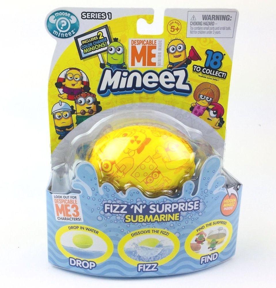 Despicable Me Action Figure Fizz Surprise Mini New Toy Boy