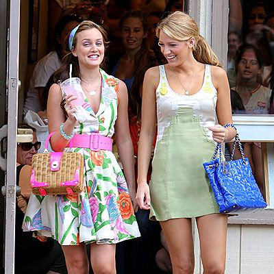 Gossip Girl - Blair & Serena luv their style