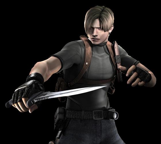 Knife Re4 Resident Evil Wiki Fandom Leon Scott Kennedy Resident Evil Leon S Kennedy