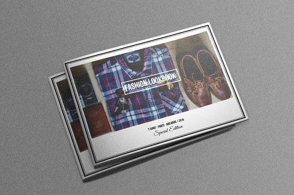Fashion Lookbook Template by meisuseno on @creativemarket - fashion design brochure template