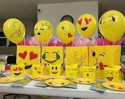 Resultado de imagen para cumpleaos de emoji ideas emoji party