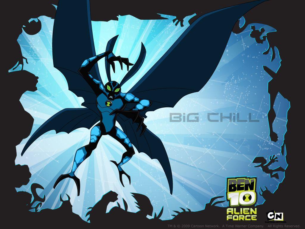 Image Result For Big Chill Ben 10 Ben 10 Chill Amigo