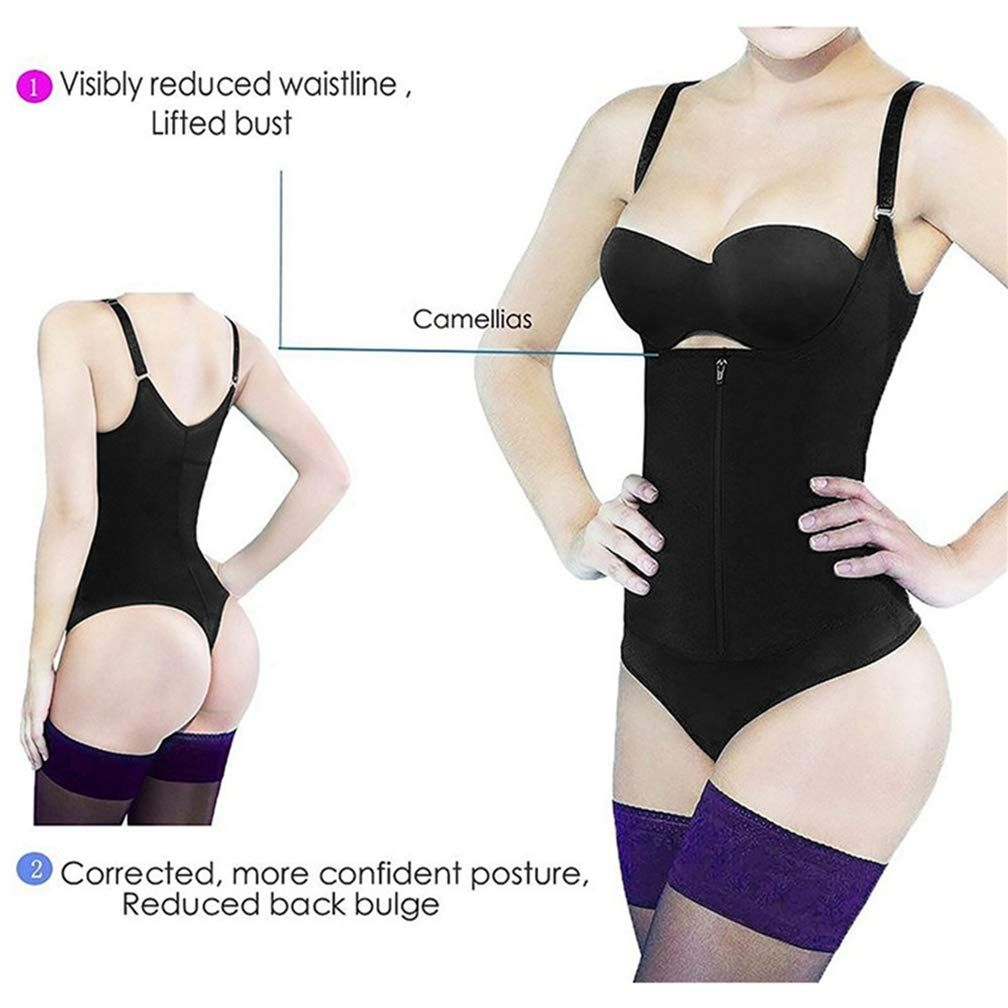 5971310fe0 CTRICKER Slimming Body Shaper Women Bodysuit Waist Trainer Tummy Firm  Control Shapewear -- More info could be found at the image url.