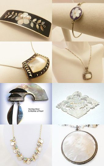 Mother of Pearl from Warm to Cool by Margie Homan on Etsy--Pinned with TreasuryPin.com