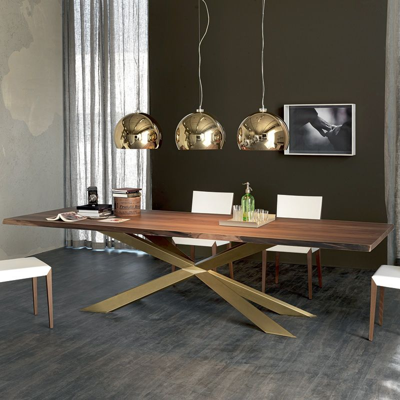Dining Tables Cattelan Italia Spyder Wood Table Spl