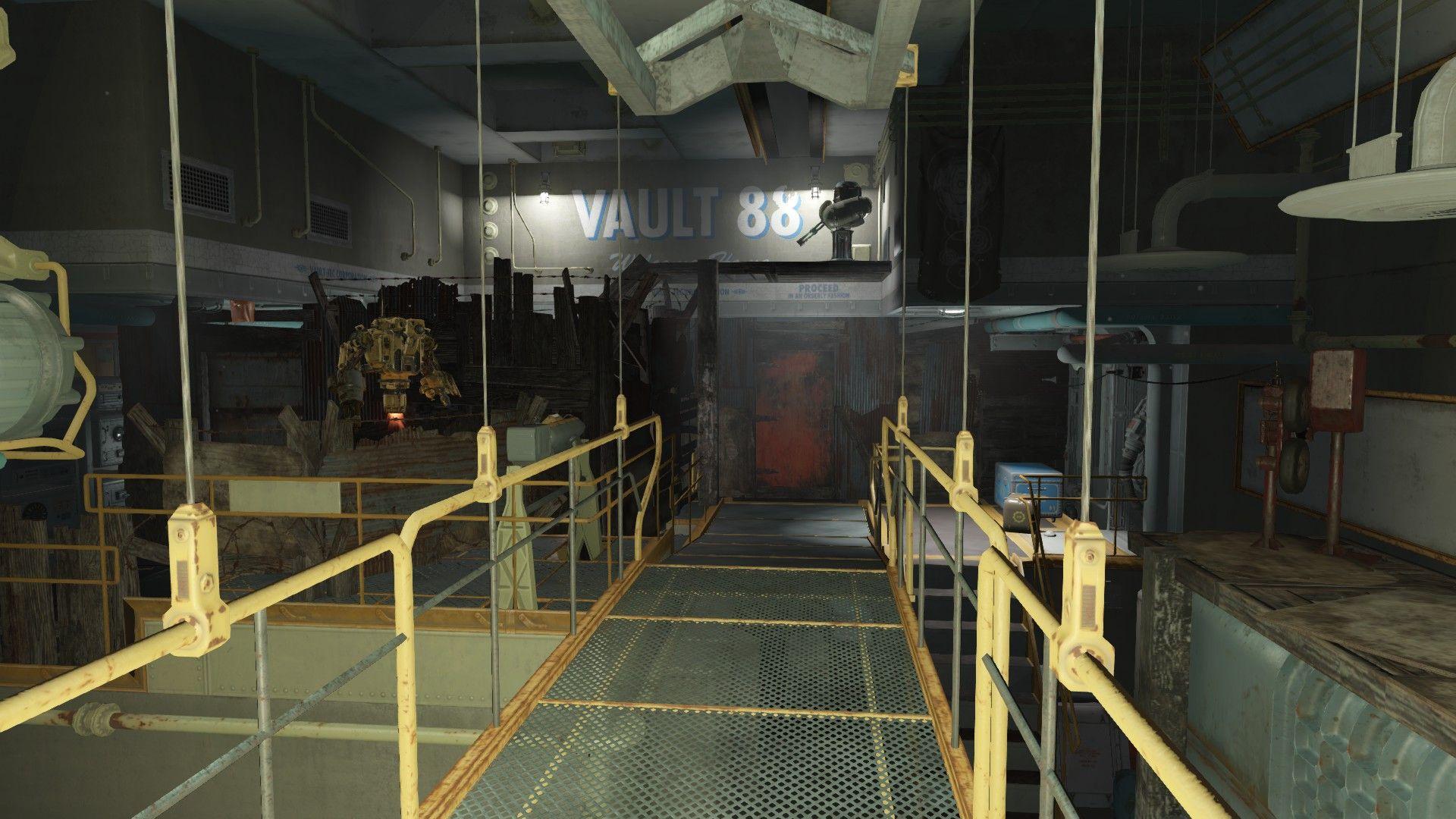 Vault 88 Raider Settlement (No mods) #Fallout4 #gaming #Fallout