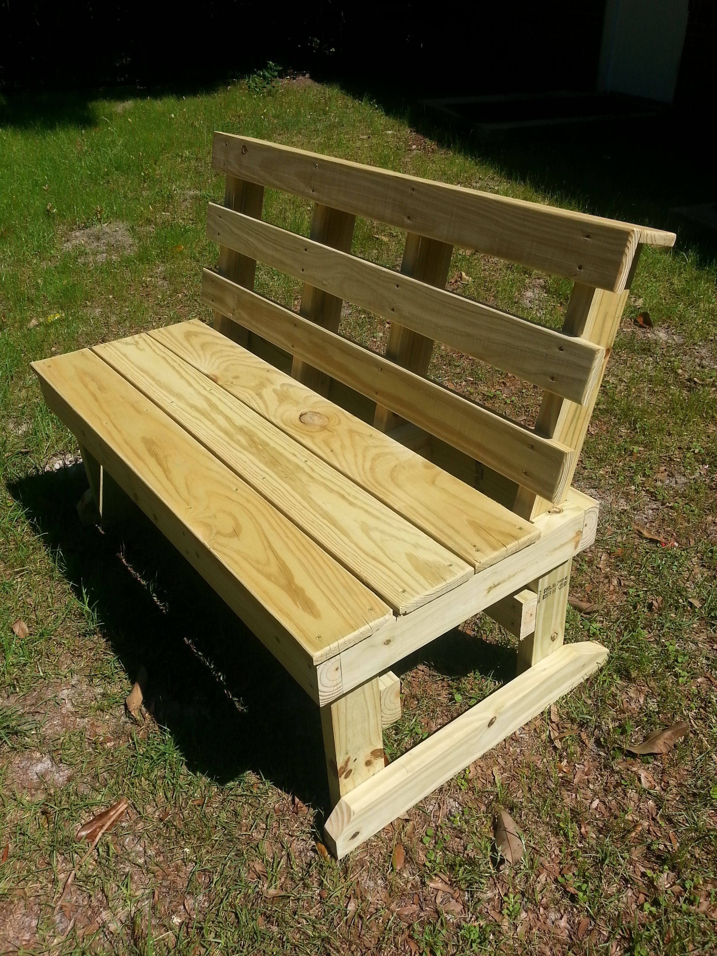 Astonishing Custom Made Wood Bench Heavy Duty Made With Pressure Pdpeps Interior Chair Design Pdpepsorg