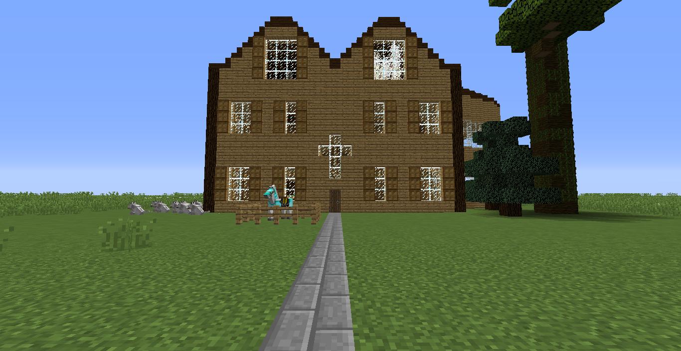 A mansion I built.