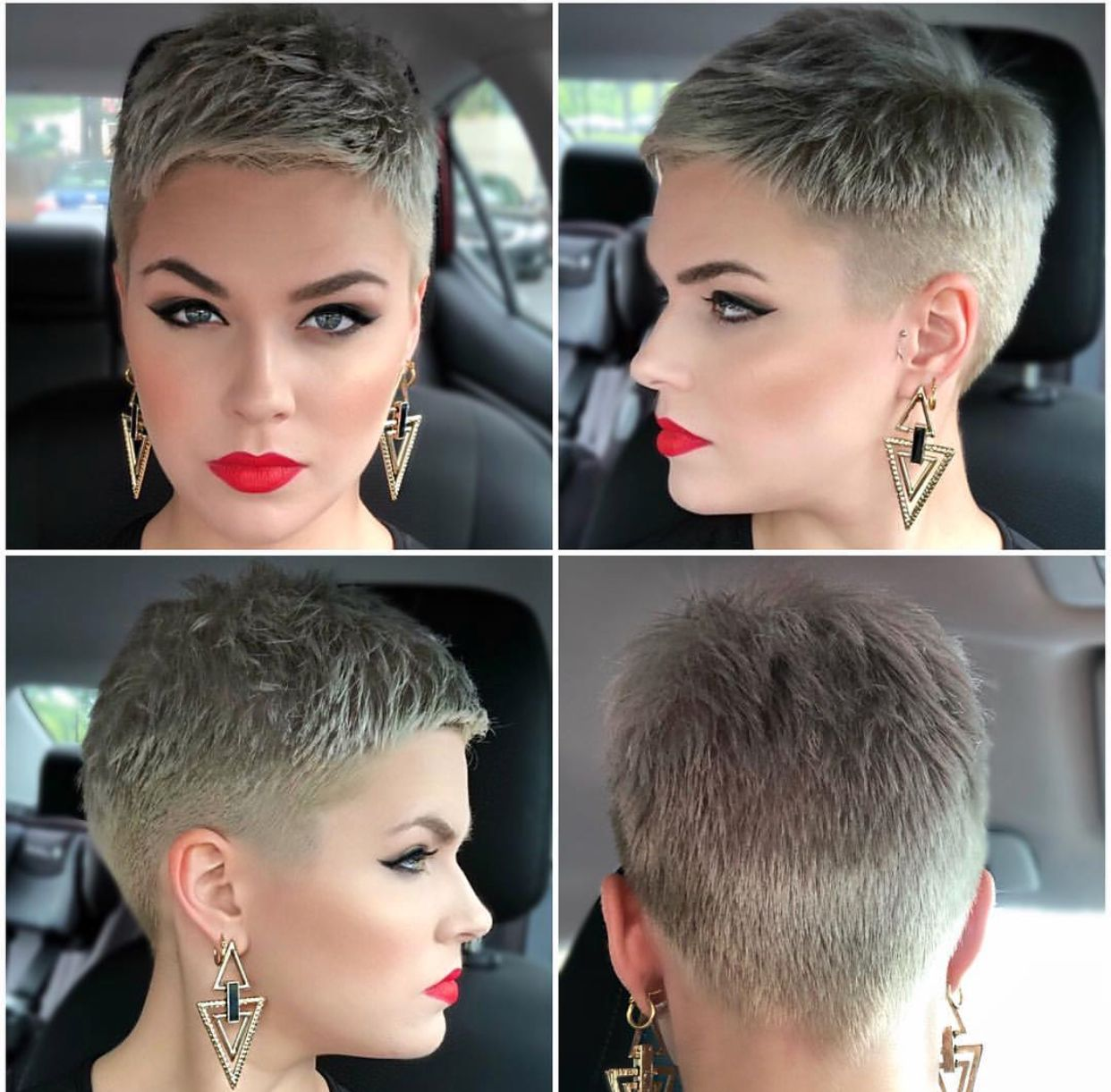 pin by rebecca fowler on chemo | short hair styles, hair