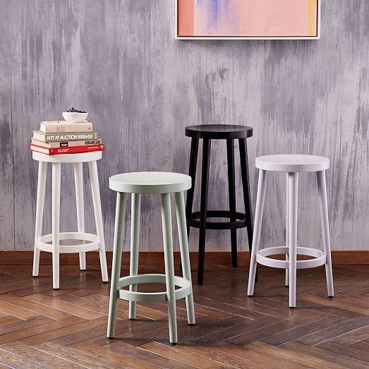 Astounding Stools Cafe Bar Counter Stool Oregano West Elm T Ibusinesslaw Wood Chair Design Ideas Ibusinesslaworg