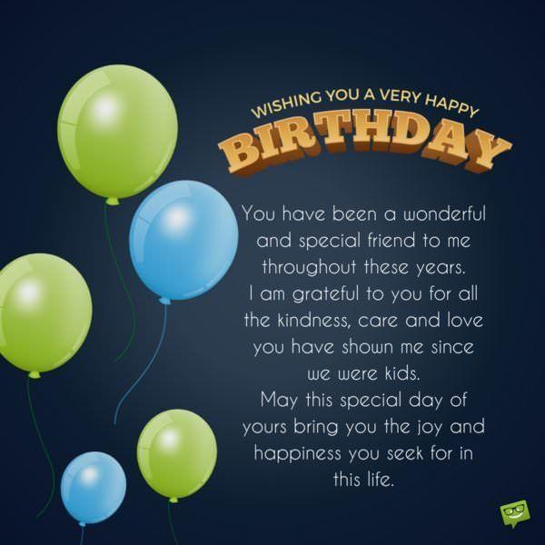 Wishing You A Very Happy Birthday