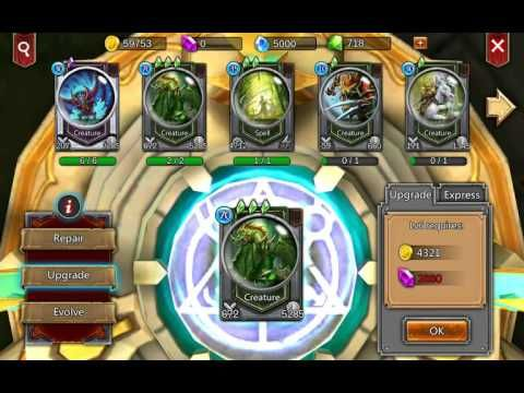 Elemental Rush - Android Gaming 3 - Elemental Rush is a Free-to-play Android, Strategy Card Multiplayer Game