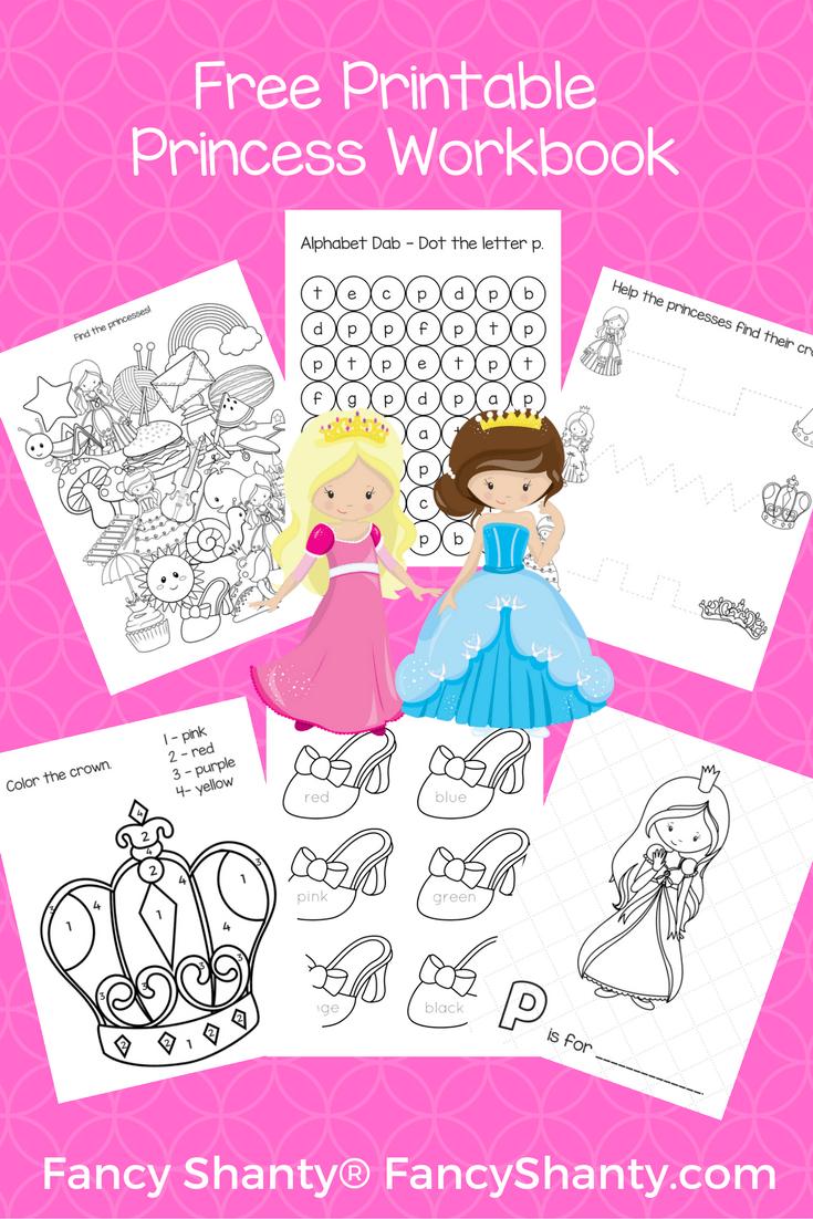 Big Preschool Workbook Download - For Girls | Preschool | Pinterest ...