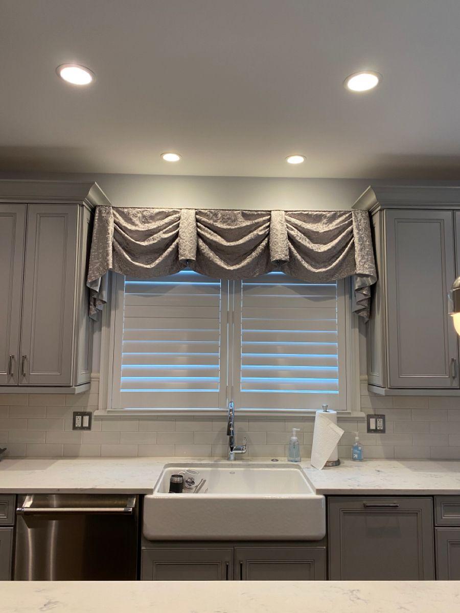 Kitchen Valance Arched Window Treatments Valance Kitchen Interior