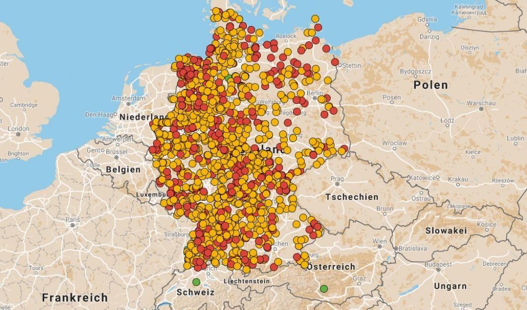 Interaktive Karte Hier Finden Sie Stellplatze Fur Ihren Camper