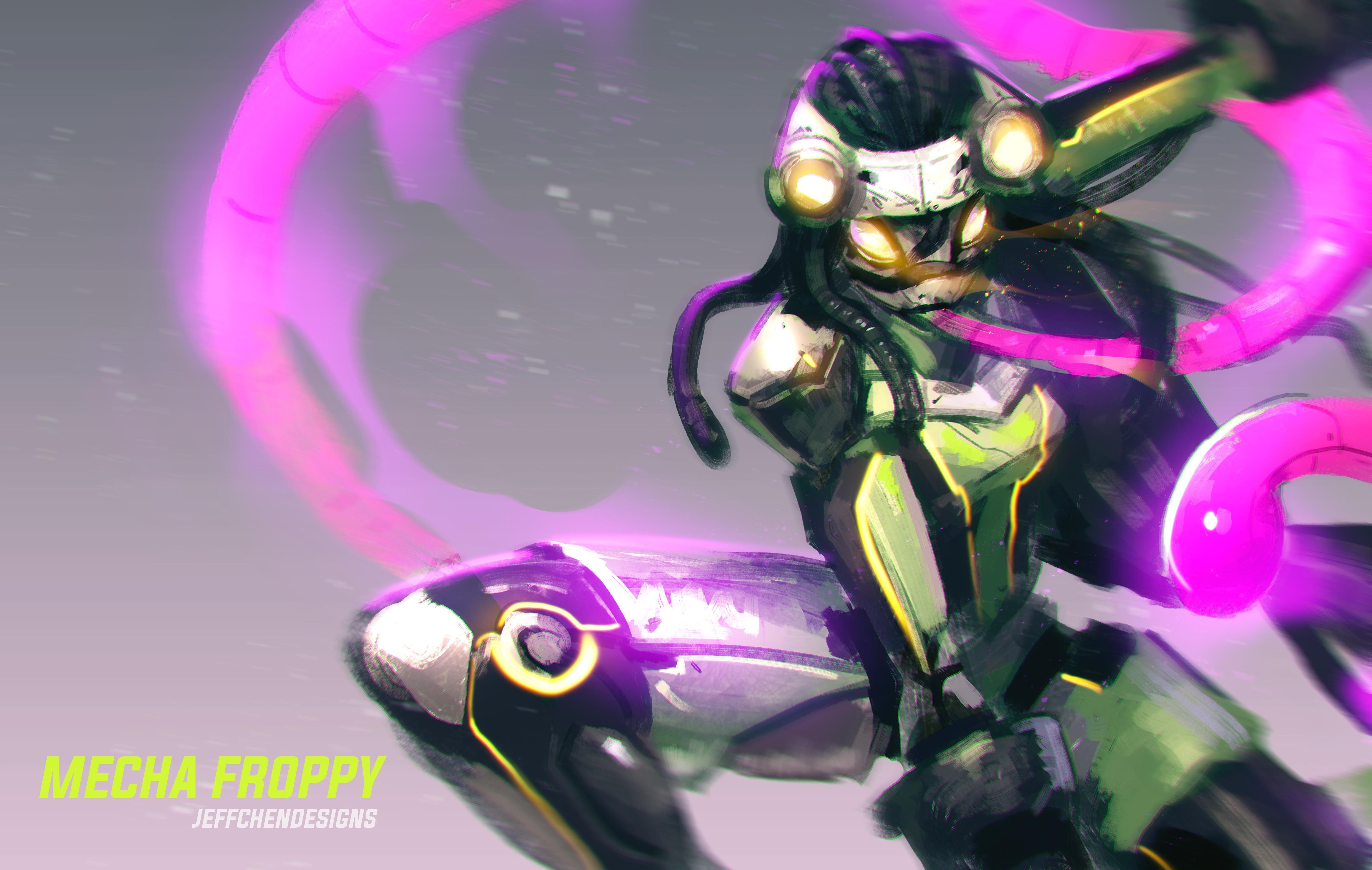 Mecha Froppy Credit To Almightyjeff On Reddit Anime Hero My