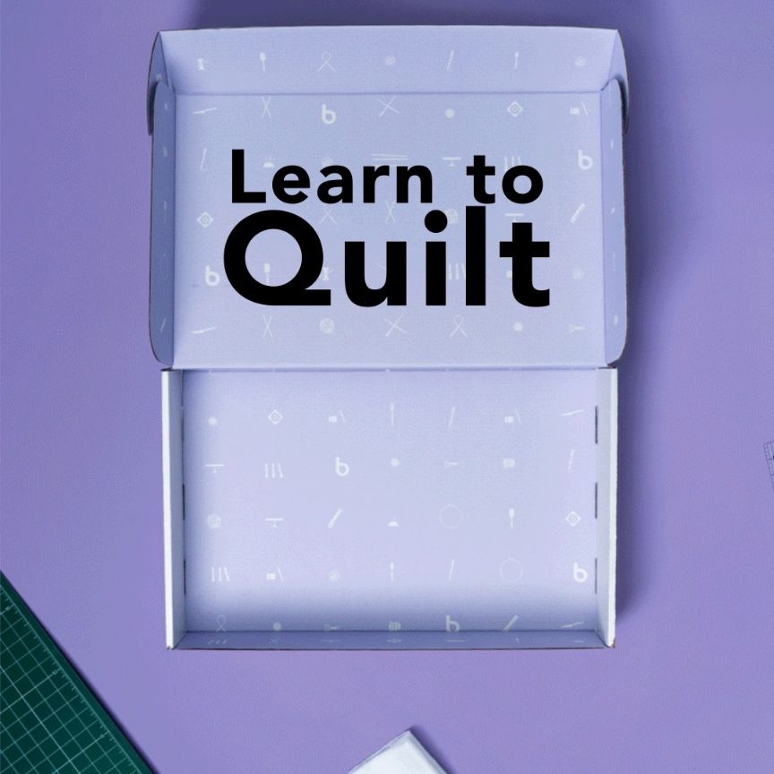 Photo of Ready, set, make! We've got everything you need to learn to quilt. Right now, …