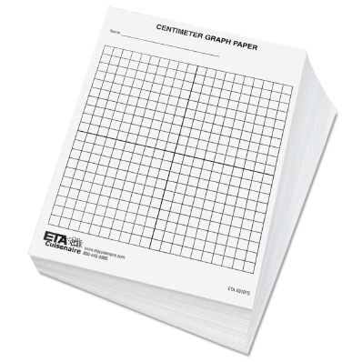One Centimeter Graph Paper w Axes Lines Classroom Aids Gadgets - graph paper with axis