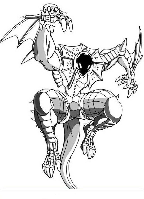 Desenhos para pintar bakugan 4 inspira o pinterest for Free bakugan coloring pages