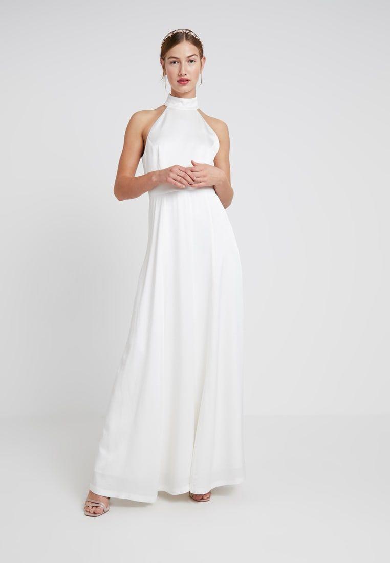 ivy & oak bridal neckholder bridal dress - galajurk - snow