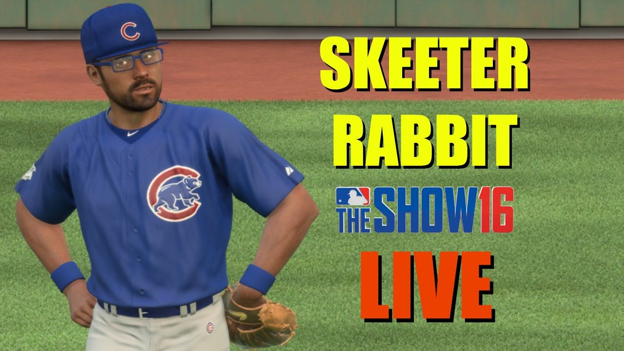 MLB The Show 16 (PS4) Skeeter Rabbit Road To The Show Live