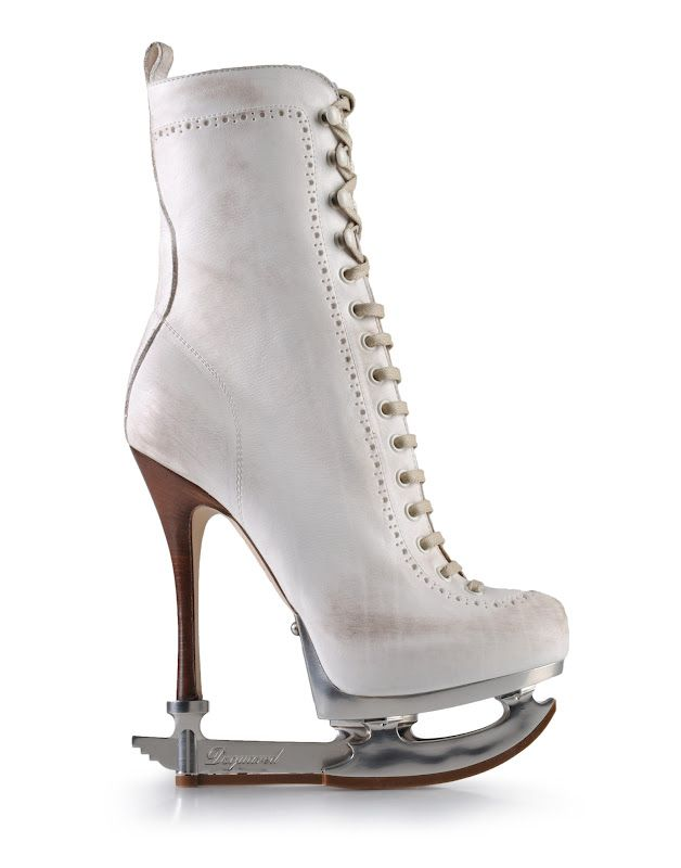 Ice skaters by Dsquared2