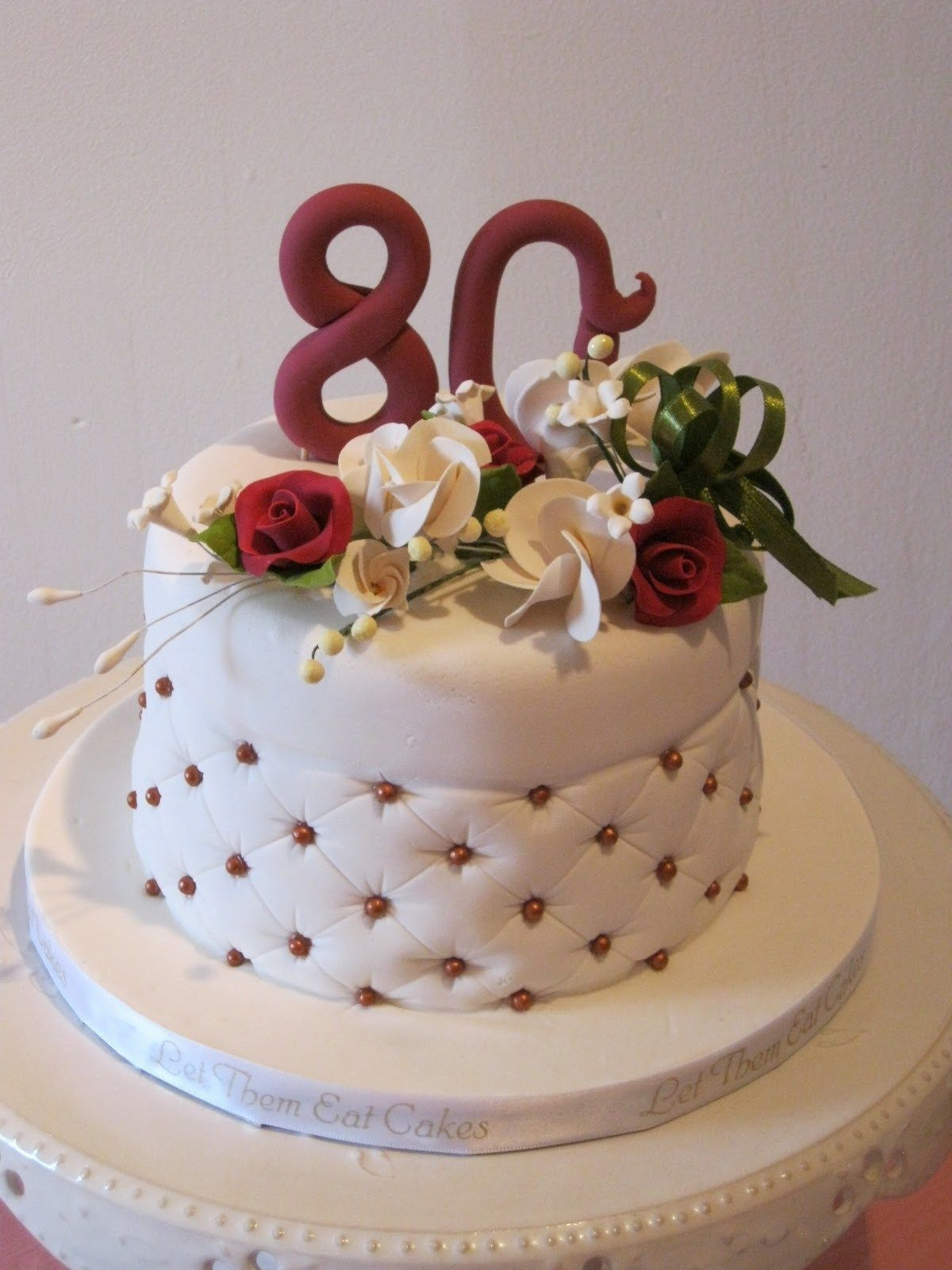 32 Elegant Picture Of 80th Birthday Cake Ideas With Images Birthday Cakes For Men 80 Birthday Cake 80th Birthday Cake For Men