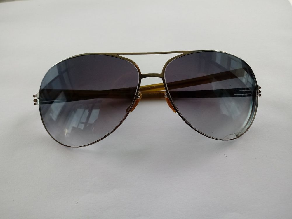 681e70afb289f IC BERLIN MODEL RAF S CHROME MADE IN GERMANY SUNGLASSES FRAME ONLY  fashion   clothing