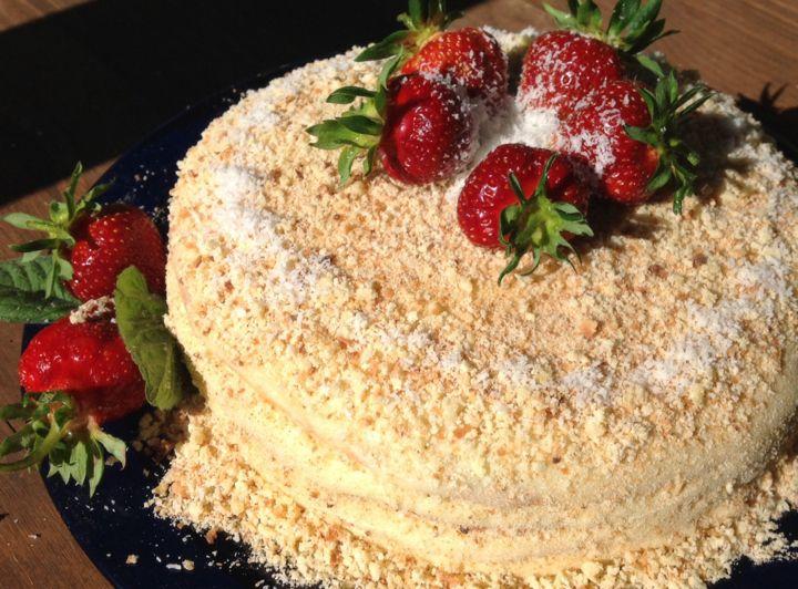 Торт сметанный (82 рецепта с фото) - рецепты с фотографиями на Поварёнок. ру 95