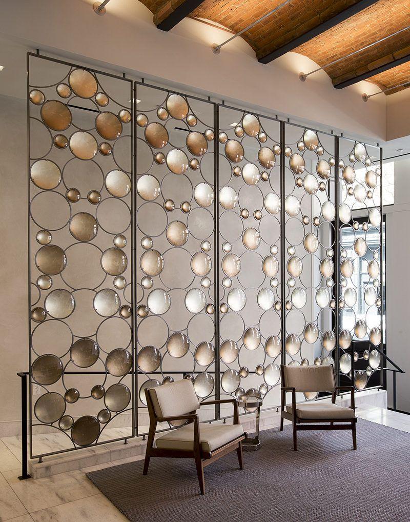 Room Divider Idea Artist Christophe Cme created a Bubble Screen