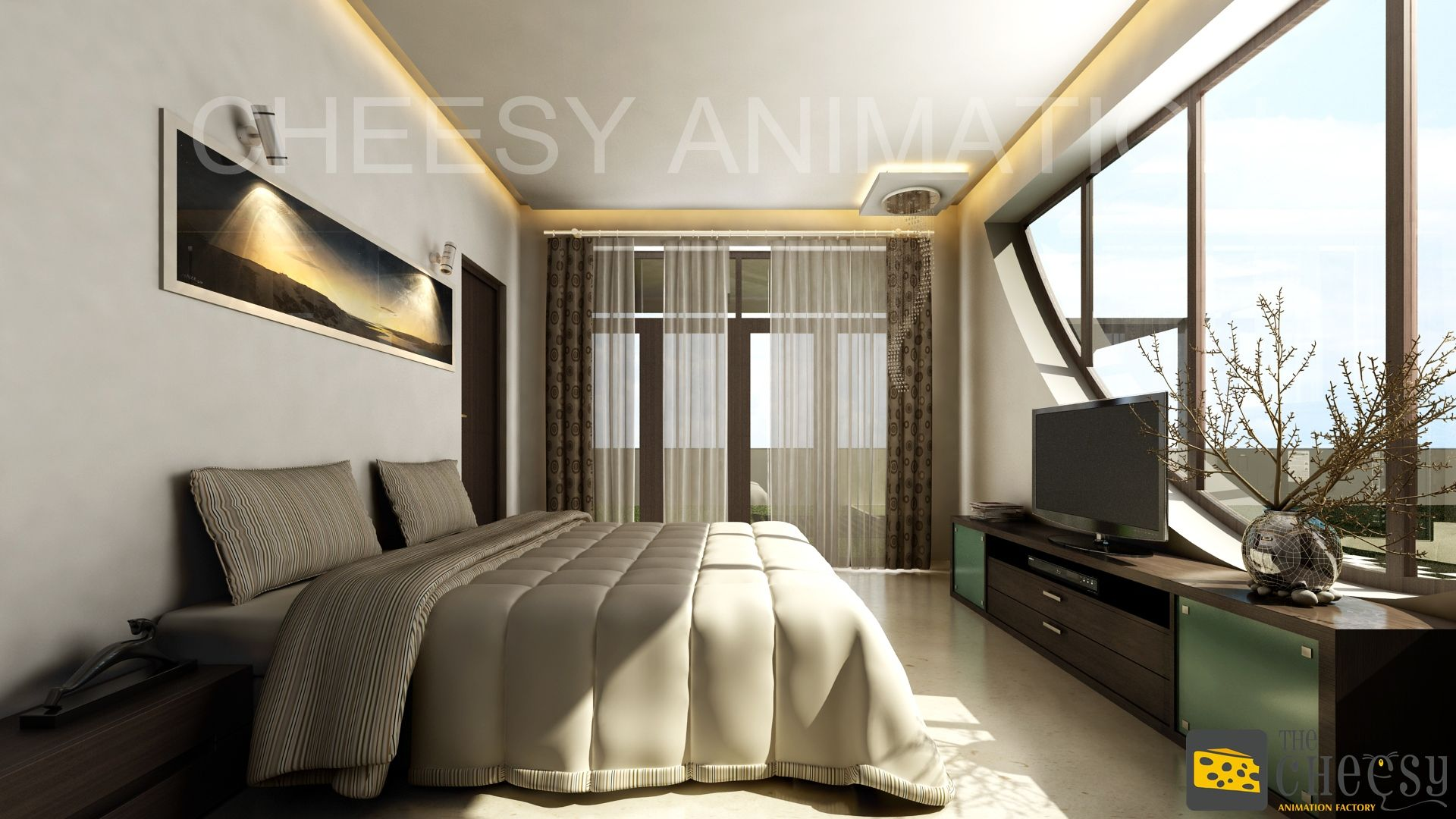 The Cheesy Animation Company Offering Services Is Interior Rendering And  Design, Residential, Commercial For Studio India, Ahmedabad, Mumbai.