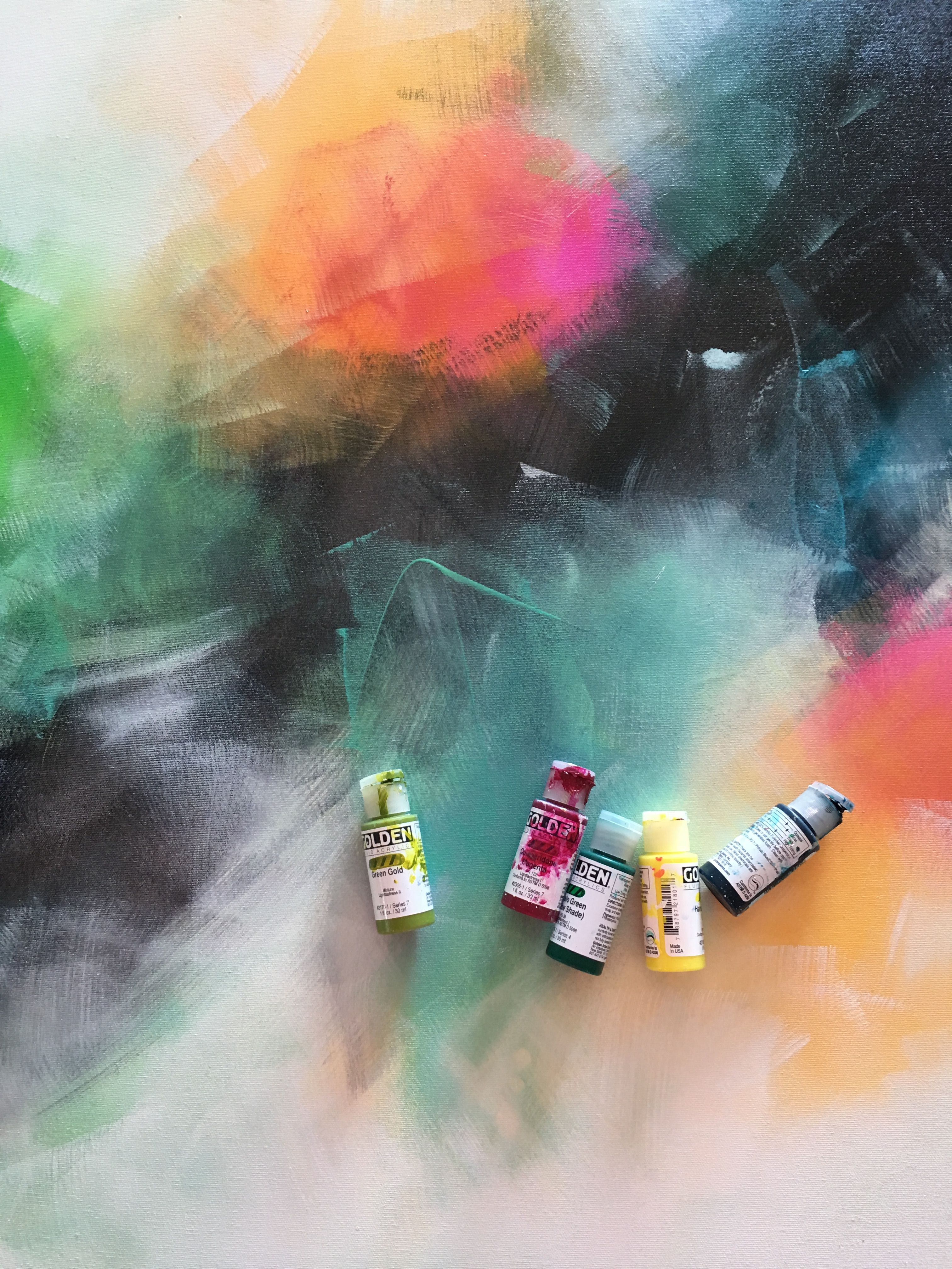 Abstract painting inspiration ideas image artwork by
