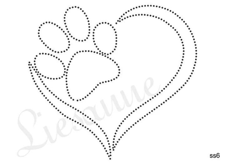 Paw heart | String Art Stuff | Pinterest | String art, Crafts and ...