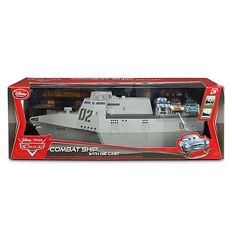 $39.50Cars 2 Combat Ship Play Set with 3 Die Cast Cars   Vehicles & RC Toys   Disney Store