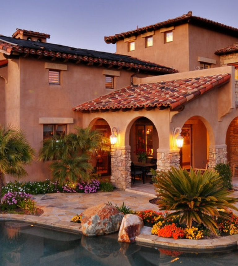 Mediterranean Ranch Style Homes: Pin By Sherry Scruggs On Outdoor Kitchens & Patios