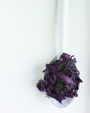 Sweet-and-Sour Cabbage  www.marthastewart.com