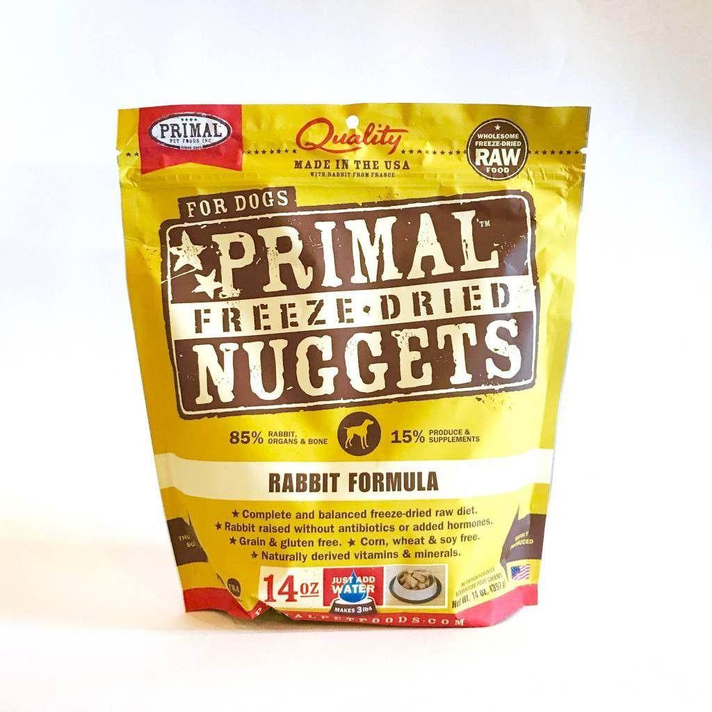 Holistic Dog Food Primal Freeze Dried Rabbit 14 oz Dog