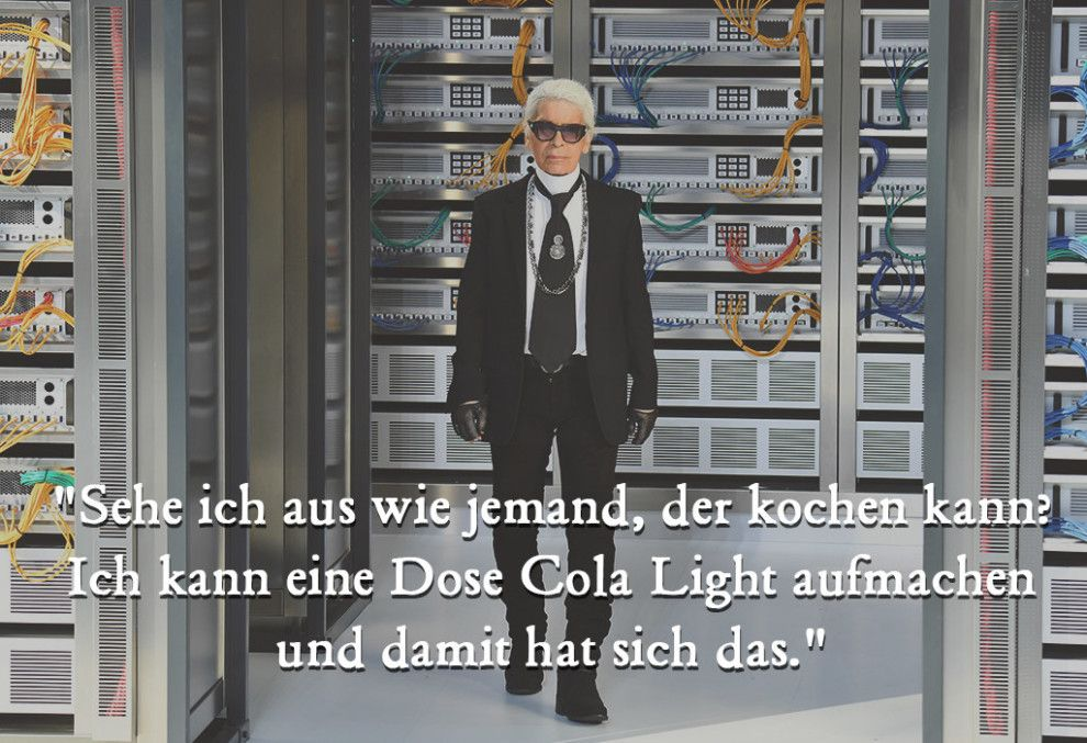 Photo of 21 snappy sayings by Karl Lagerfeld, for which he remains unforgettable