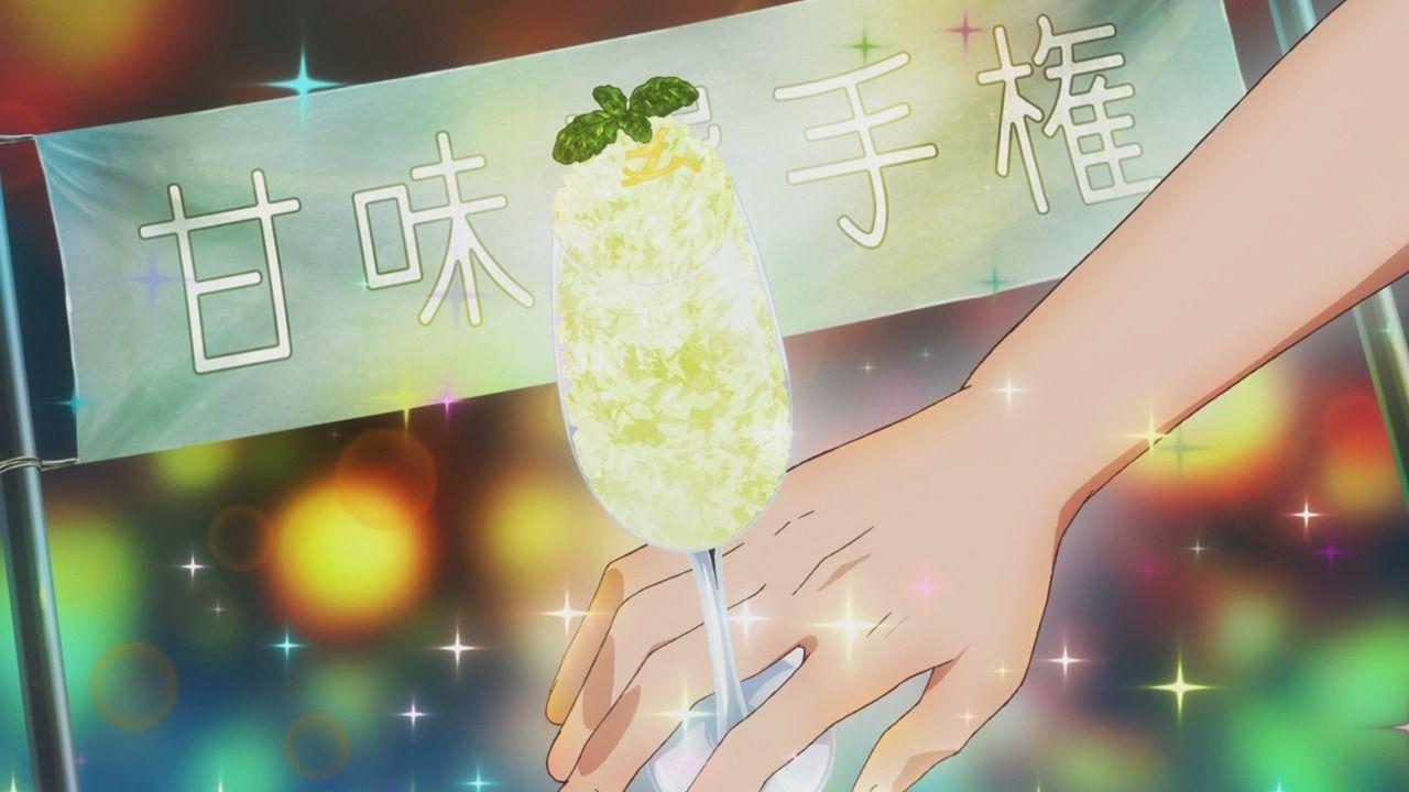 Piace Watashi No Italian Episode 10 Anime Food Ice Italian Kakigori No Piace Shaved Watashi Italian Anime Summer Cocktails