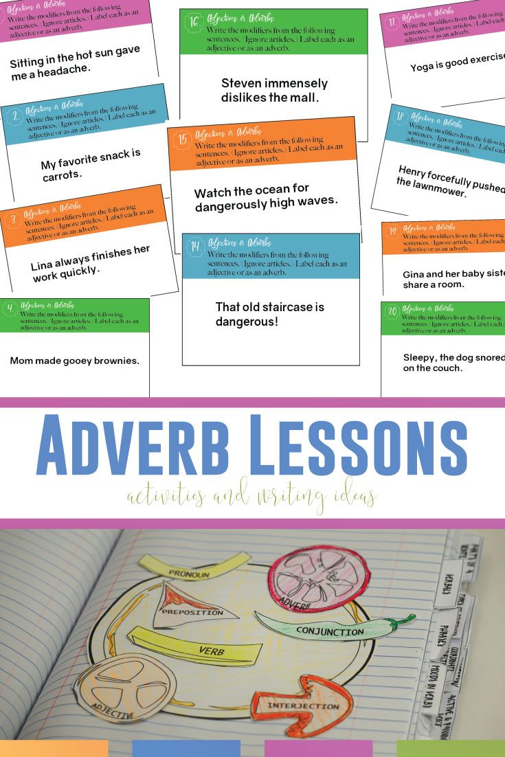 Adverb Lesson Plans More than Adverb Worksheets