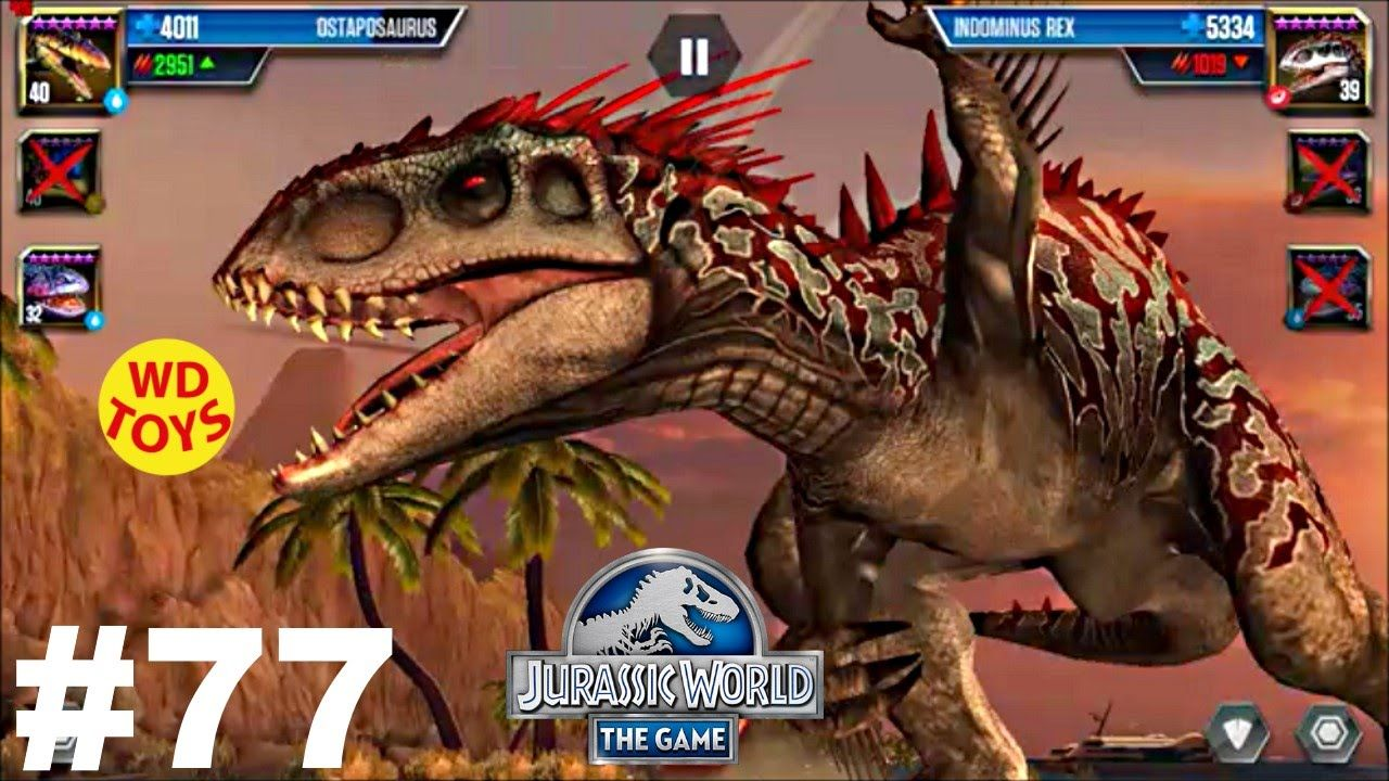 Jurassic World - The Game Dinosaurs Ludia Episode 77 Hybrid