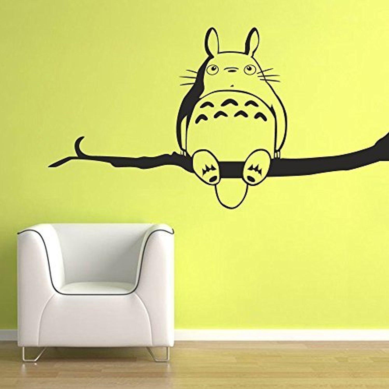 my-neighbor-totoro-vinyl-wall-sticker-inspired-chu-and-chibi-totoro ...