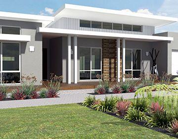 unique modern single story house plans contemporary homes pinterest house