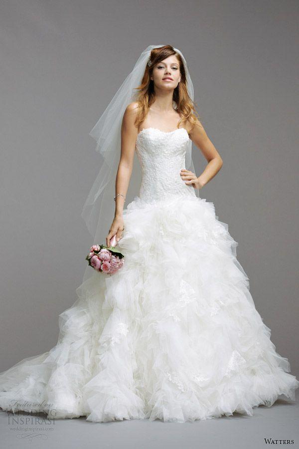 Watters Brides Spring 2014 Wedding Dresses   Wedding Inspirasi   Page 2